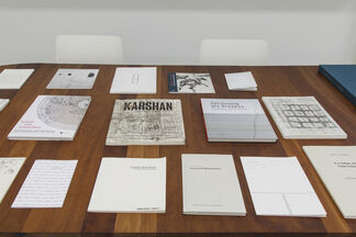 LINDA KARSHAN,  SIGNS OF MEN  |   a conversation with Linda Karshan and Dr. Mark McDonald, Curator of Prints, Dept. of Drawings and Prints, The Metropolitan Museum of Art on Sunday March 29th, 2015, installation view