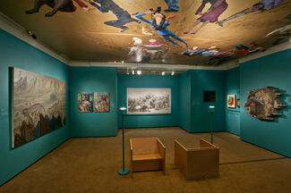Inspired by Dunhuang: Re-creation in Contemporary Chinese Art, installation view