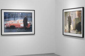 Serena Maisto. Time Line. My Walk with Basquiat, installation view