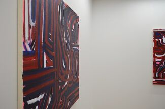 Deviating Lines: Lyn Carter, Pam Glick, installation view