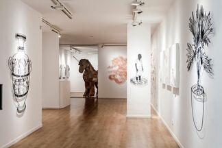 Oh the Humanity...., installation view