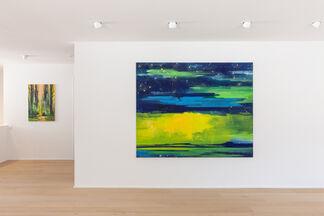 """BERND ZIMMER """"REFLEXION"""", installation view"""