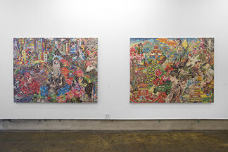 Graphic: of or relating to visual art, installation view