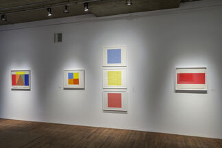 Systematic exploration: Gouaches 1955-1987, installation view