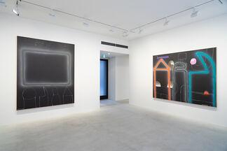 Sadamasa Motonaga: Paintings 1980-85, installation view
