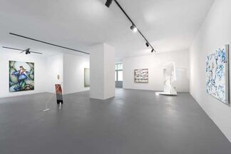 Clemens Behr & Lennart Grau: Surface to Surface, installation view