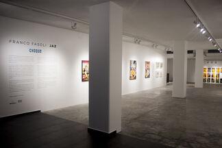 Choque, installation view