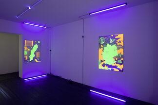 Ilja Karilampi __ new RELEASES, installation view