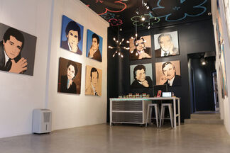 Andy's Socialites, installation view