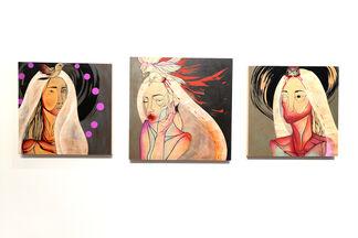 "Jennifer Caviola aka CAKE ""Allegories of the Held"", installation view"