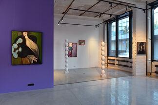 Lilac Ladies, installation view