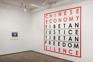 Hamish Fulton: Walking Artist, installation view