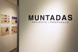 Muntadas: Projects/Proposals, installation view
