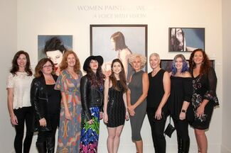 Women Painting Women : A Voice with Vision, installation view