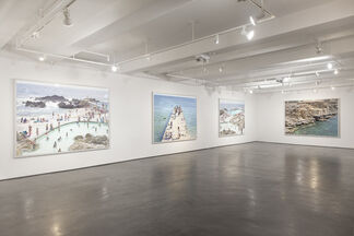 "Massimo Vitali ""Disturbed Coastal Systems"", installation view"