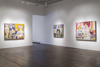 Kim Levin: Paintings 1963-1973, installation view