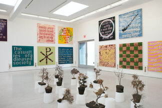 Daniel Joseph Martinez: The report of my death is an exaggeration - Memoirs: Of Becoming Narrenschiff, installation view