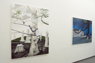 """""""All The Artificial Barriers"""" by Gerard Ellis, installation view"""
