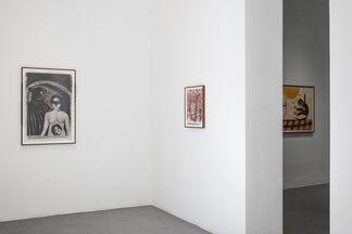 Marcel Dzama: Revolution Blues, installation view