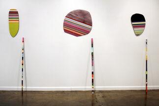 "Leah Rosenberg ""Pairings"", installation view"