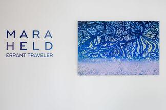 Mara Held: Errant Traveler, installation view