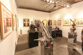 Barbarian Art Gallery at SCOPE New York 2014, installation view