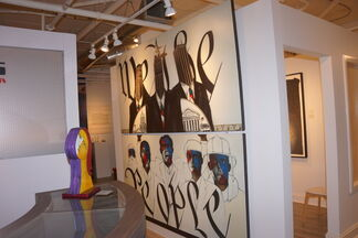 The Divided State of America, installation view