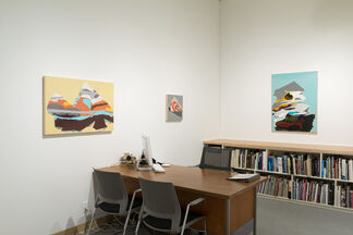 In The Office: Jessalyn Haggenjos | Cascades, installation view