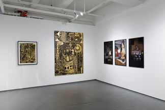 Lines, Motions and Ritual, installation view