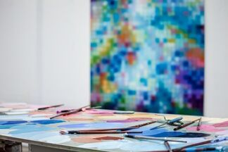 Hill Smith Gallery at Art Central 2016, installation view