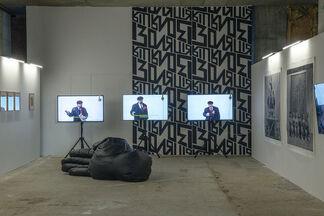 Social Contract. Revision. IZOLYATSIA at Kyiv Art Fair 2018, installation view