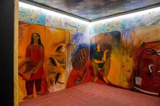 Songs from the Blood of the Weary (Dialogues of Peace) : Rekha Rodwittiya, installation view