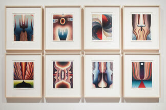 Loie Hollowell: Point of Entry, installation view
