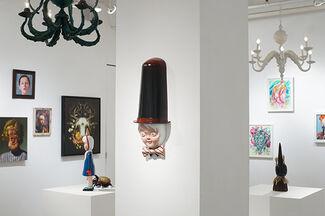 The Lost Mitten Society Annual Winter Salon Show, installation view