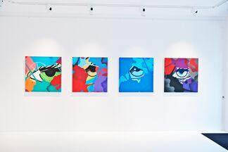 John Crash Matos, installation view