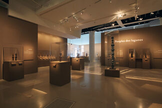 Masters of Sculpture from Ivory Coast, installation view