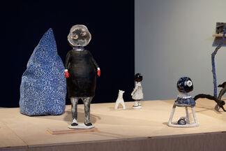 Margaret Meehan Paper Moon, installation view