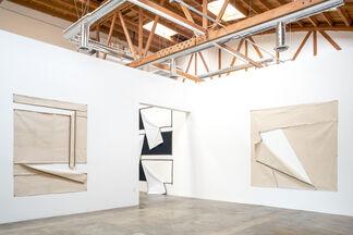 """Karen Carson: """"Zip Line"""", installation view"""