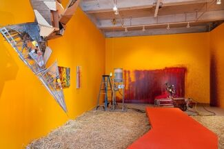 """""""Bloodflames Revisited"""", installation view"""