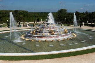 Rebirth of the Latona Fountain, installation view