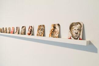 Eric Stotik: Set, installation view
