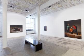 Hans Aichinger : Der Teufel im Detail, installation view