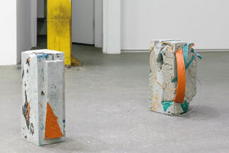 Re: Work Over Time, installation view