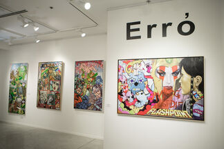SOLO SHOW Erró, installation view