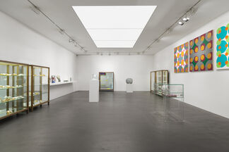 John Armleder 'OUT!', installation view