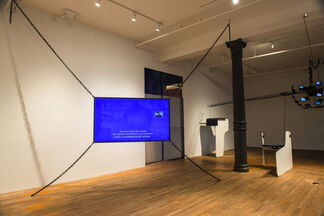 Saved by the web?, installation view