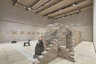 Historia de arena (History of sand), installation view
