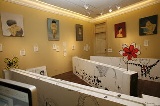 Painting Skin-Wang Tingting Solo Exhibition 画皮-王婷婷 个展, installation view