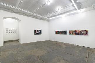 Martha Colburn - Camera, Lights, Charge, Pop!, installation view