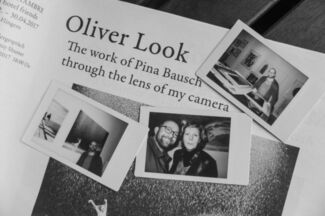 Oliver Look  >>The world of Pina Bausch through the lense of my camera<<, installation view
